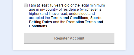 Read and accept terms and conditions