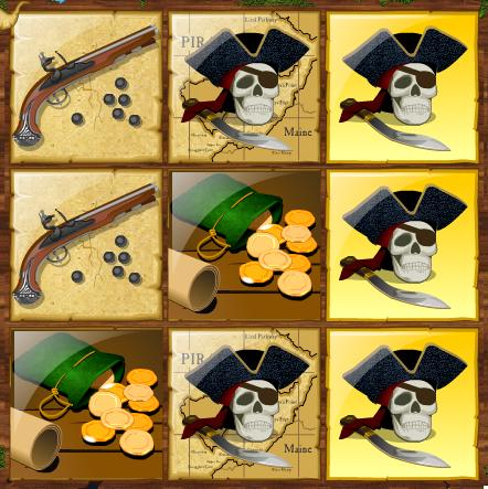Pirate Instant Winning Scratchcard 2