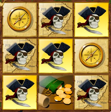 Pirate Instant Winning Scratchcard 3