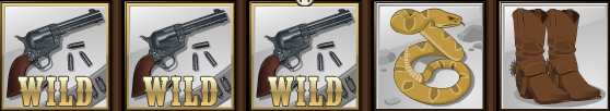 Old West WILD Icon