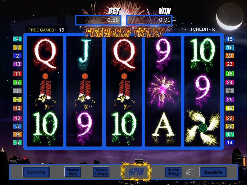 How do I play the free games feature in Fireworks Frenzy? | SBOBET ...