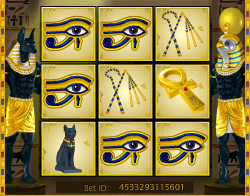 Mini Jewels Of Anubis Losing Scratchard