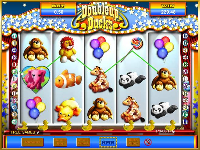 Doubleup Ducks Slots - Play Online for Free