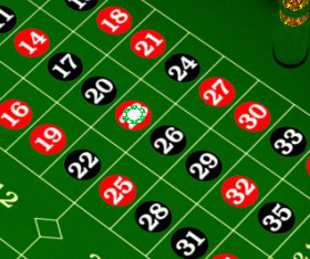 Roulette Straight-Up: 23