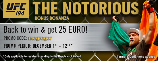 """The Notorious"" Bonus Bonanza! 