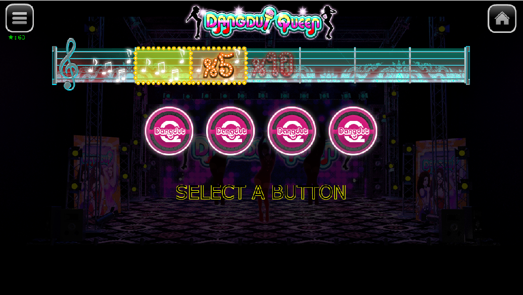 Dangdut Queen bonus game 4 buttons remaining scene.jpg