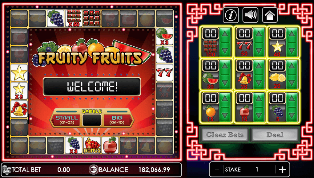 Fruity Fruits game entry scene.png