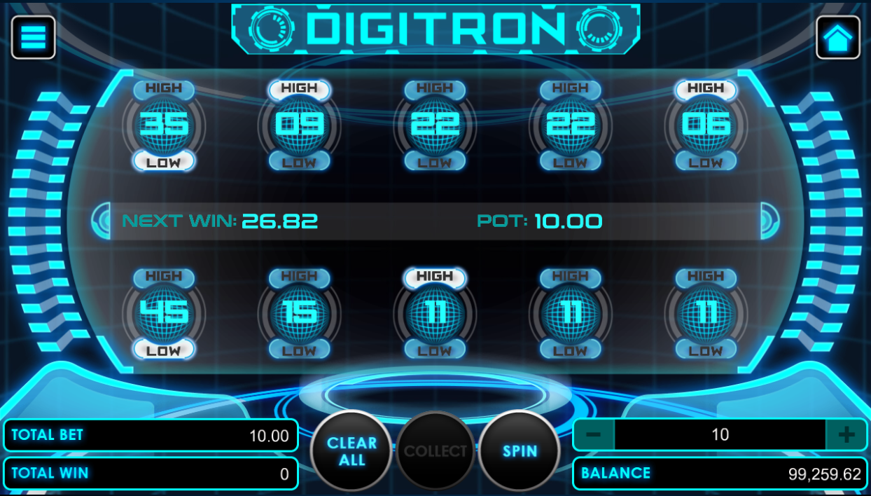 Digitron game