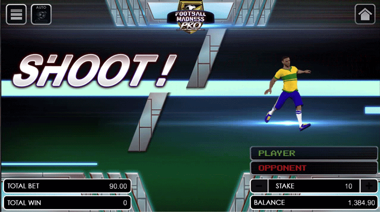 Football Madness Pro Shootout current phase