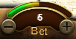Lucky Fa bet amount display