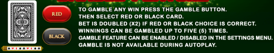 Ancient Artifacts gamble feature