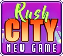 Rush City new game button